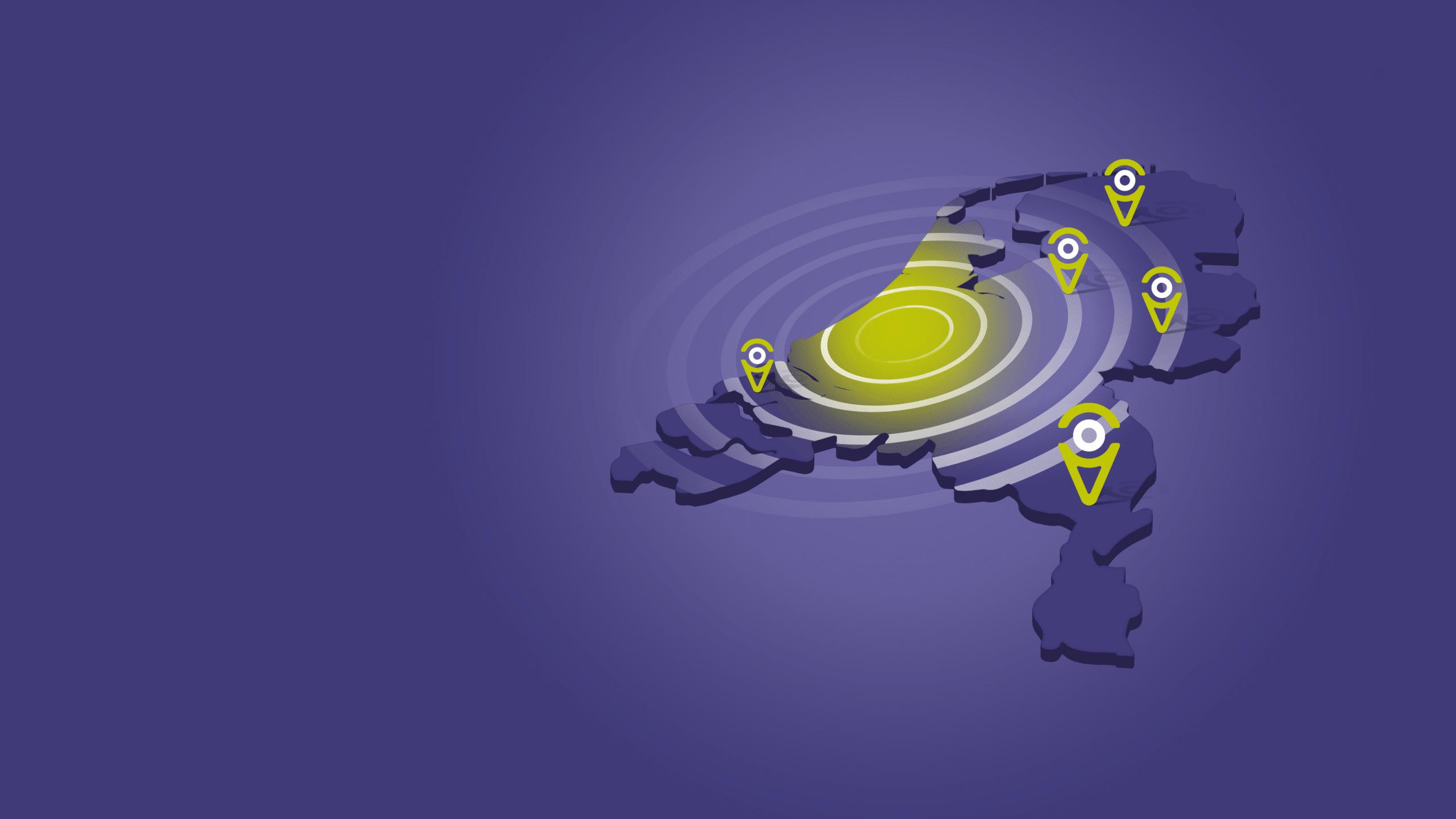 Spotta B2B - Landkaart