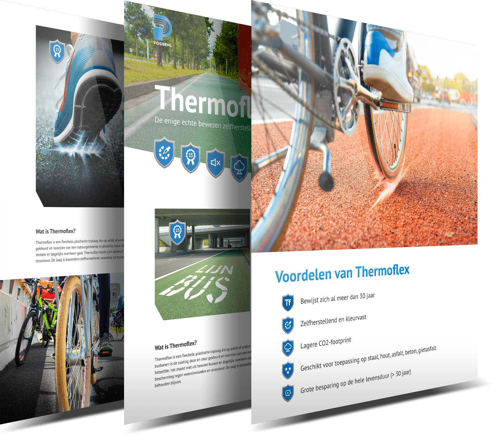 Possehl Thermoflex - Webpagina's